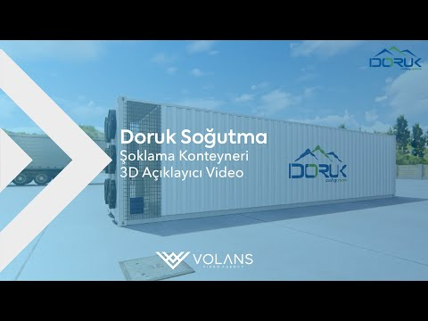 Doruk Soğutma Reefer Container 3D Explainer - Digital Strategy