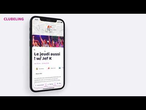Clubeling - Application mobile